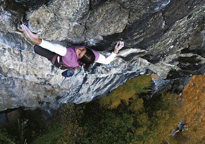 Sport climbing in the Ötztal / Tyrol