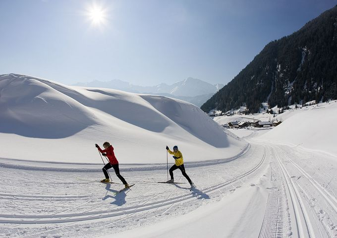 Recharge your batteries in the cross-country ski trail!